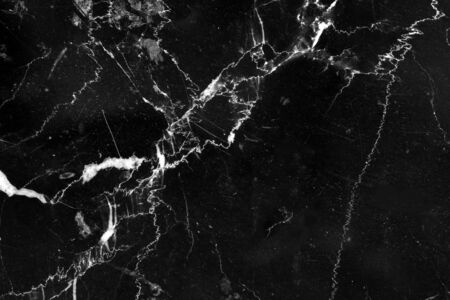 black marble texture pattern with abstract line structure detail on high resolution