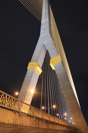 Rope bridge Rama 8 photo