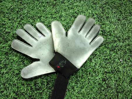 arquero: guantes de portero de f�tbol