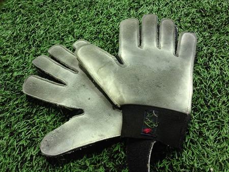 arquero de futbol: guantes de portero de fútbol