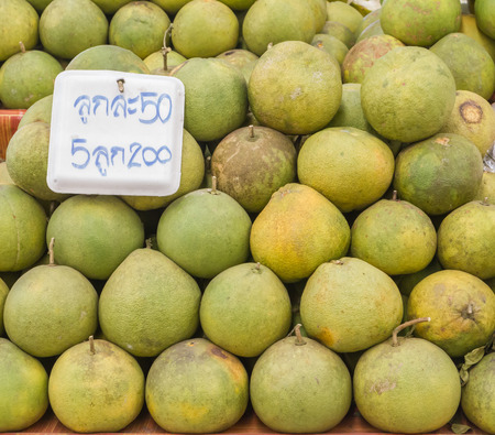 told: grapefruit and label told price in thailand market