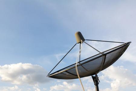 satelite: Satellite dish Stock Photo