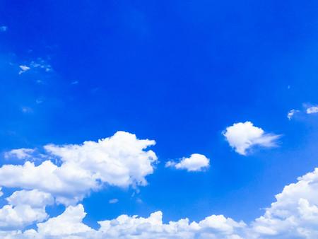 landscape blue sky