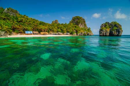 lang: Lang Ka Jew island in the south of Thailand Stock Photo