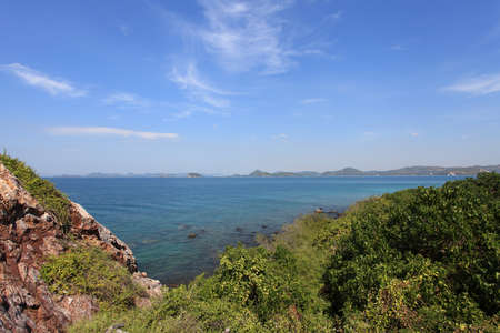 ViewPoint at Koh Kham ,Sattahip,Chonburi,Thailand Stock Photo