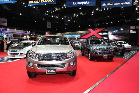 BANGKOK - MARCH 26: ISUZU D-MAX on display at The 34th Bangkok International Motor Show on March 26, 2013 in Bangkok, Thailand.