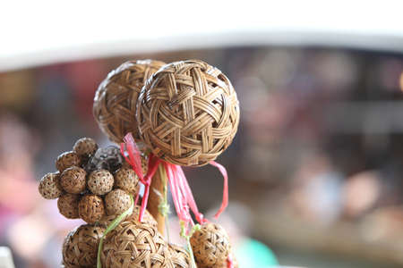 Wicker rattan ball for sell photo
