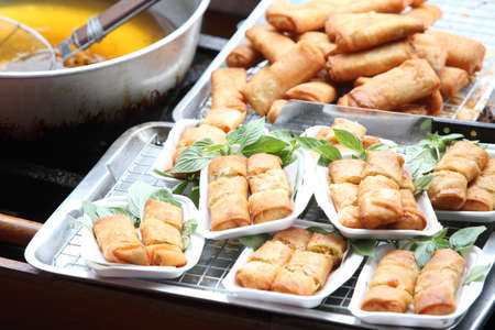 Spring roll in box for sell