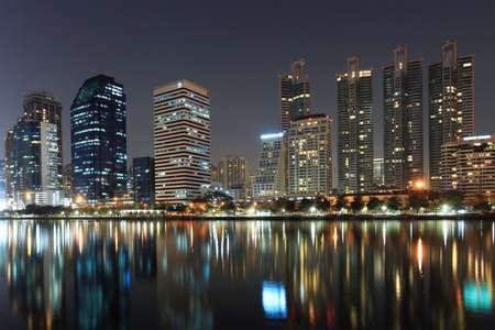 night scenes of city ,building at night Stock Photo - 19996598
