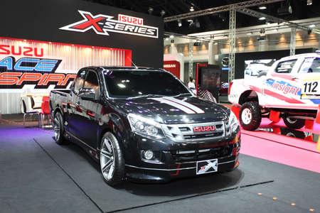 Isuzu X-Series on display at Bangkok International Auto Salon 2013 on June 20, 2013 in Bangkok, Thailand