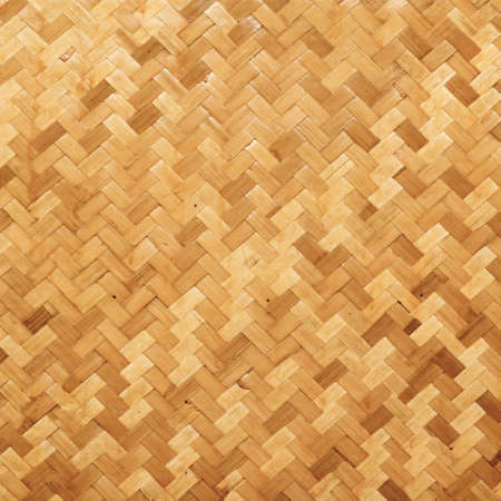 straw background, basket weave, texture.  Stock Photo
