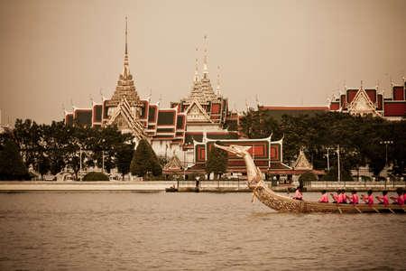 Royal Barge Suphannahongse,wat phra kaew,bangkok Thailand