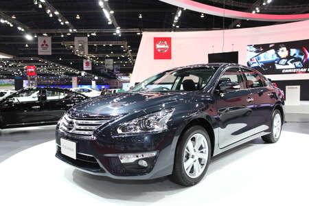 NONTHABURI - March 25: Nissan Teana car on display at The 35th Bangkok International Motor Show on March 25, 2014 in Nonthaburi, Thailand.
