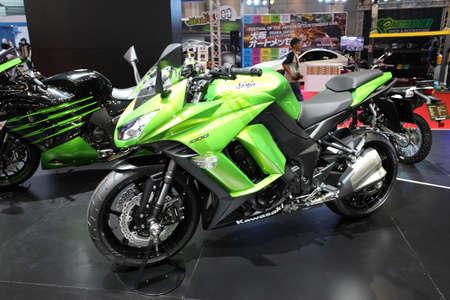 BANGKOK - MARCH 25 : Kawasaki Ninja 1000 Motorcycle on display at The 35th Bangkok International Motor Show 2014 on March 25, 2014 in Bangkok, Thailand.