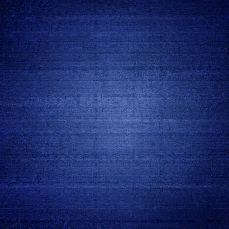 blue paint: Blue canvas texture abstract  background with vignette