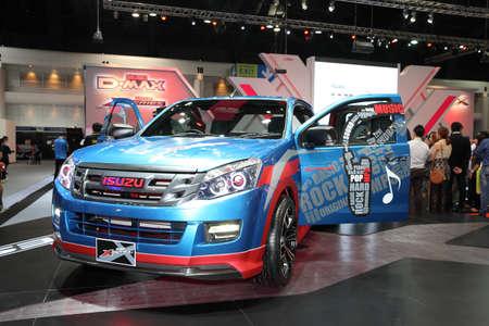 BANGKOK - November 28: Isuzu X-series car on display at The Motor Expo 2014 on November 28, 2014 in Bangkok, Thailand.