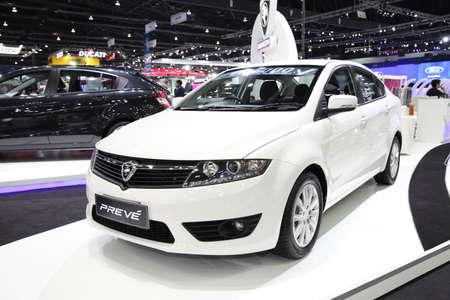 proton: BANGKOK - November 28: Proton PREVE car on display at The Motor Expo 2014 on November 28, 2014 in Bangkok, Thailand.