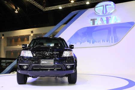 BANGKOK - listopad 28: Tata 150N X-Plore auto 4WD na displeji na Motor Expo 2014 28. listopadu roku 2014 v Bangkoku v Thajsku.