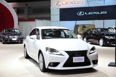 lexus: BANGKOK - MARCH 25: Lexus IS 300h car on display at The 36 th Bangkok International Motor Show on March 25, 2015 in Bangkok, Thailand.