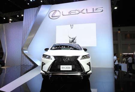 lexus auto: BANGKOK - December 11: Lexus RX 200t car on display at The Motor Expo 2015 on December 11, 2015 in Bangkok, Thailand.