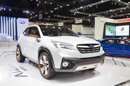 Bangkok March 22 Subaru Viziv Future Concept Car On Display