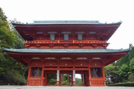 Daimond Gate, the Ancient Entrance to Koyasan in Wakayama