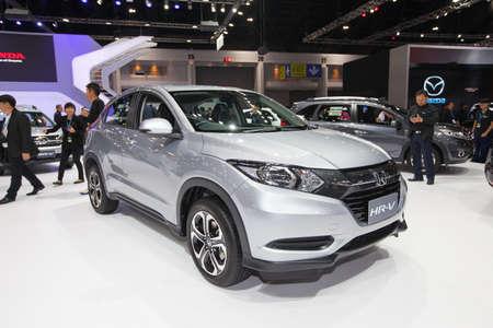 br: BANGKOK - November 30: Honda BR-V car on display at Motor Expo 2016 on November 30, 2016 in Bangkok, Thailand.