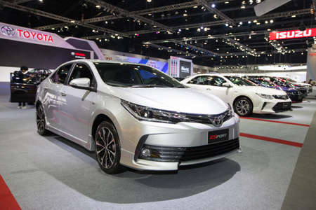 BANGKOK - November 30: Toyota ESport car on display at Motor Expo 2016 on November 30, 2016 in Bangkok, Thailand.