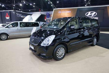 elite: BANGKOK - November 30: Hyundai H-1 Elite Touring  car on display at Motor Expo 2016 on November 30, 2016 in Bangkok, Thailand. Editorial