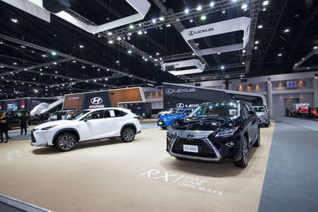 lexus auto: BANGKOK - November 30: Lexus RX 200h car on display at Motor Expo 2016 on November 30, 2016 in Bangkok, Thailand. Editorial