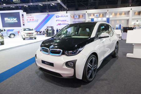 i3: BANGKOK - November 30: BMW i3 car on display at Motor Expo 2016 on November 30, 2016 in Bangkok, Thailand.