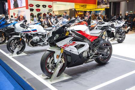 Bangkok, Thailand. 28th Mar, 2017. BMW S 1000 motorcycle on display at The 38th Bangkok International Thailand Motor Show 2017 on March 28, 2017 Nonthaburi, Thailand