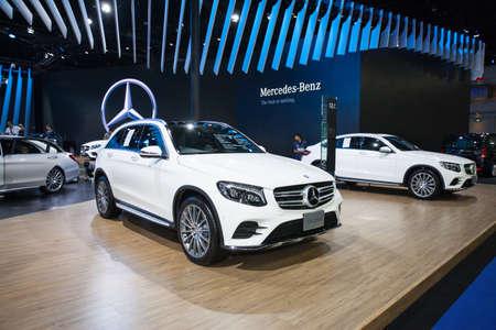 Bangkok, Thailand. 28th Mar, 2017. Mercedes benz GLC 250 d car on display at The 38th Bangkok International Thailand Motor Show 2017 on March 28, 2017 Nonthaburi, Thailand