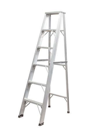ladder safety: Ladder isolated