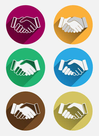 Handshake icon 向量圖像