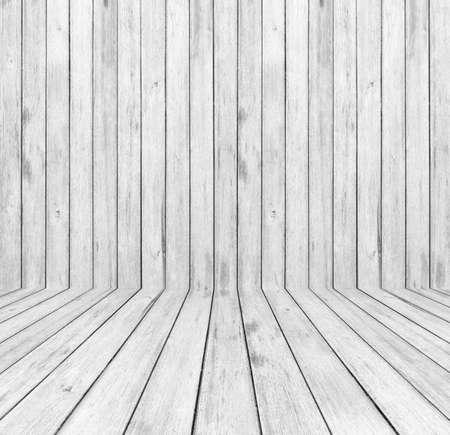 White wood background Stock Photo