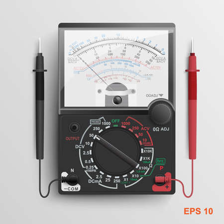 Multimeter.Vector illustration