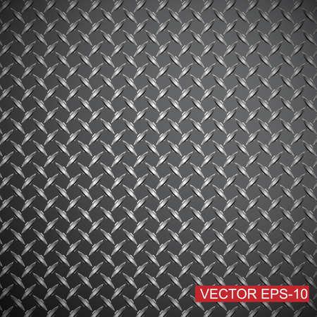 titanium: Metal diamond plate.abstract industrial background.Vector illustration