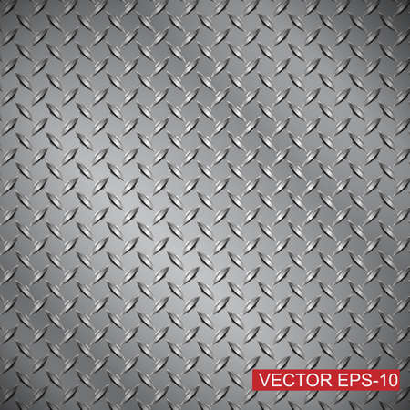 steel diamond plate texture background Banco de Imagens - 35645143