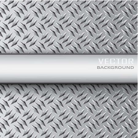 metal background.Vector illustration.