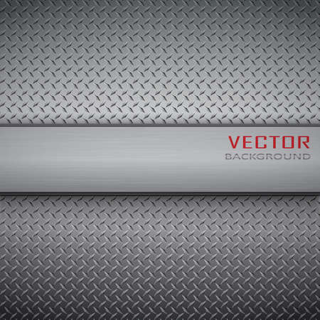 stainless: metal background.Vector illustration.