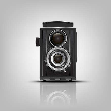 Retro Camera.Vector illustration