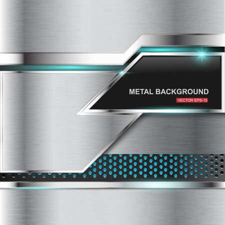 ironworks: Metal background.Vector illustration