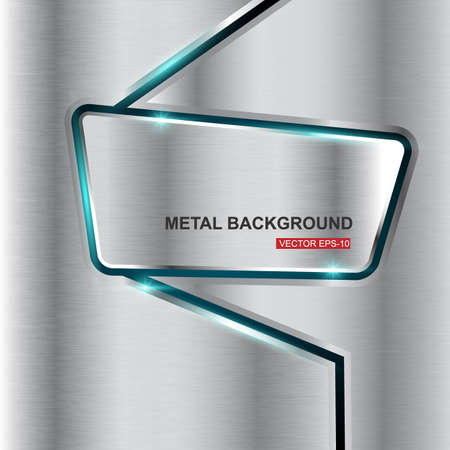 titanium: Metal background.Vector illustration