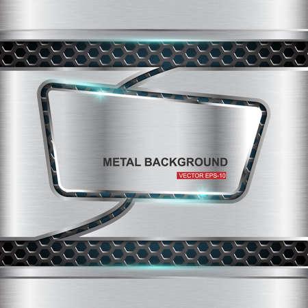 diamond plate: Metal background.Vector illustration