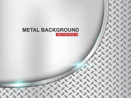titanium: Metal background illustration