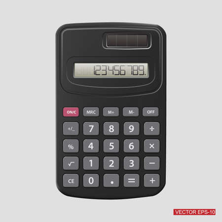 calculator: Calculator.Vector illustration