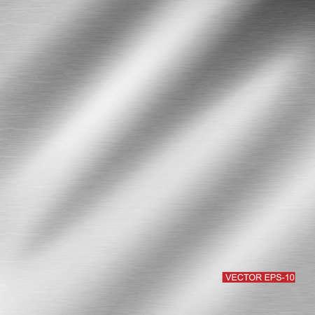 pavimento lucido: metal texture background illustration Vettoriali