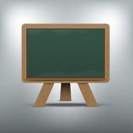 Blank blackboard illustration  Vectores