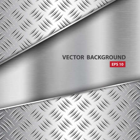 diamondplate: Metal background.Vector illustration